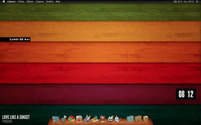 Colours and wood