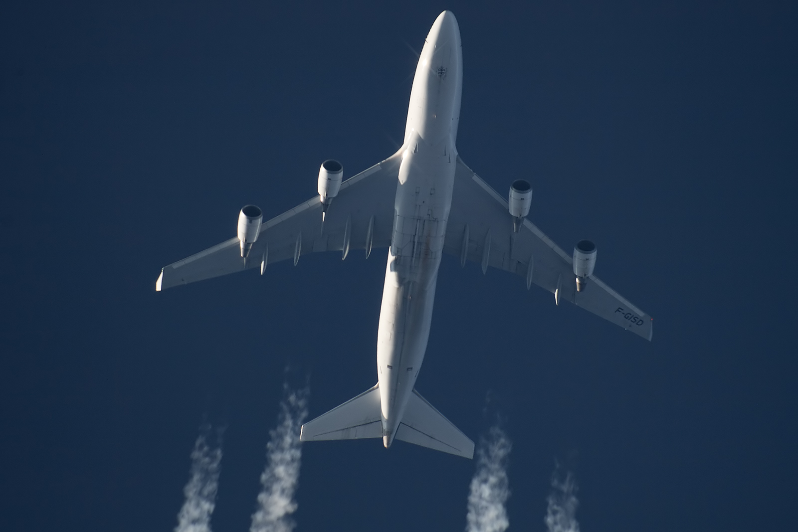 B744 Air France - F-GISD - AFR226 [CDG-DEL]