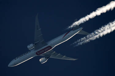 B773 Emirates - A6-ENE - UAE152 [CPH-DXB]