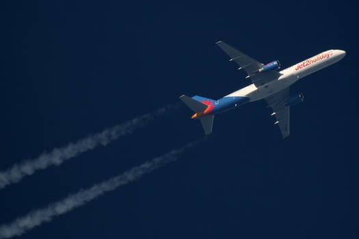B752 Jet2 - G-LSAJ - EXS515 [NCL-PFO]