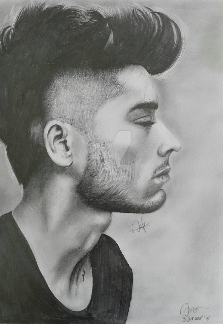 Drawing zayn malik by jasonchandra36