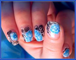 Blue delicacy... by LittleCherryMary