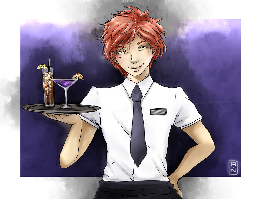 Bar Waiter by RirooNeal