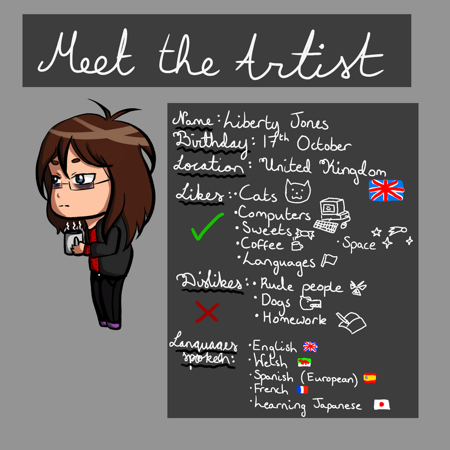 Meet the Artist - Lawliets-Minion by Lawliets-Minion