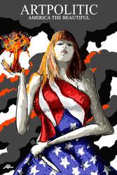 America the Beautiful by artpolitic