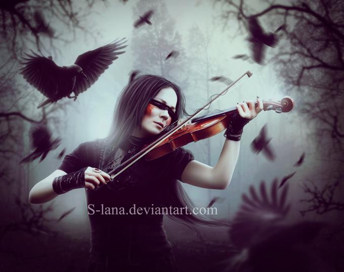 Melody of sadness by S-Lana on DeviantArt