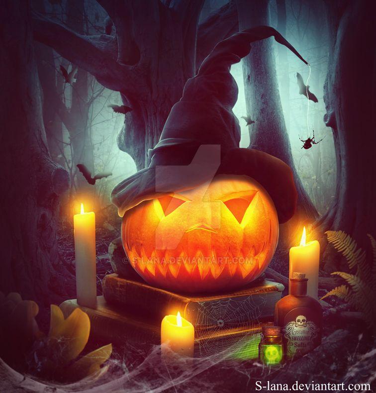 Halloween Pumpkin by S-Lana