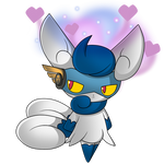 Meowstic Commission.
