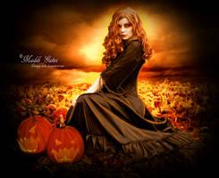 Pumpkin Queen by Vampy-note