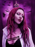 The Pink Queen by Vampy-note