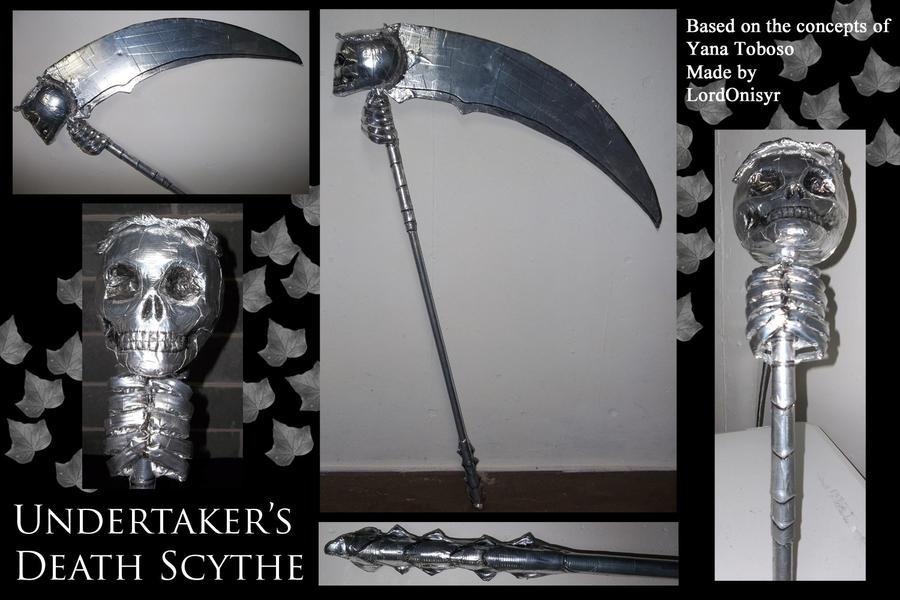 Undertaker S Death Scythe By Lordonisyr On Deviantart