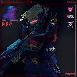 Soldier 7666 v2. by C-CLANCY