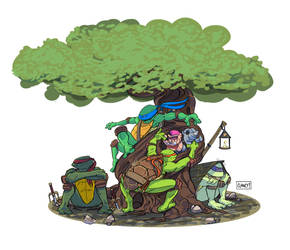 Turtle Tree by C-CLANCY