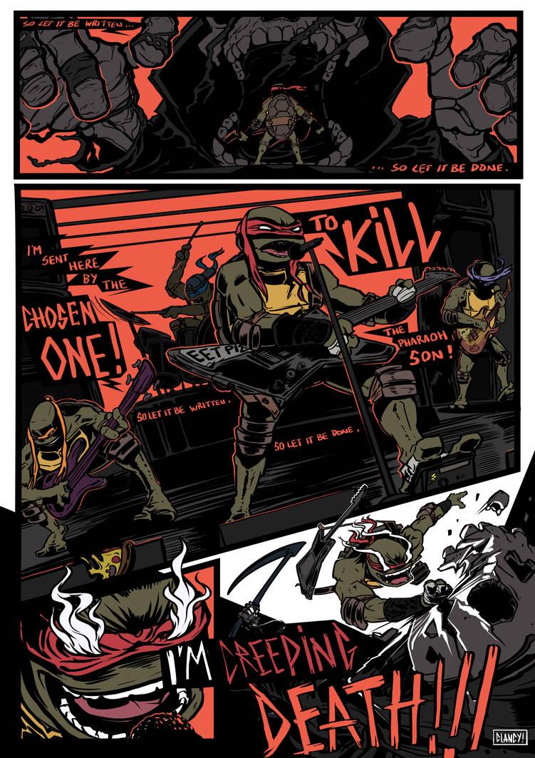 Tmnt X Metallica by C-CLANCY