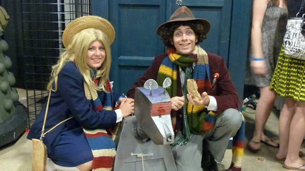4th Doctor and Romana