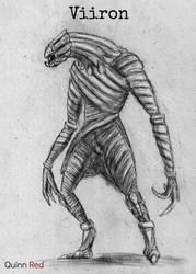 CKC Alien Races: Viiron by Quinn-Red