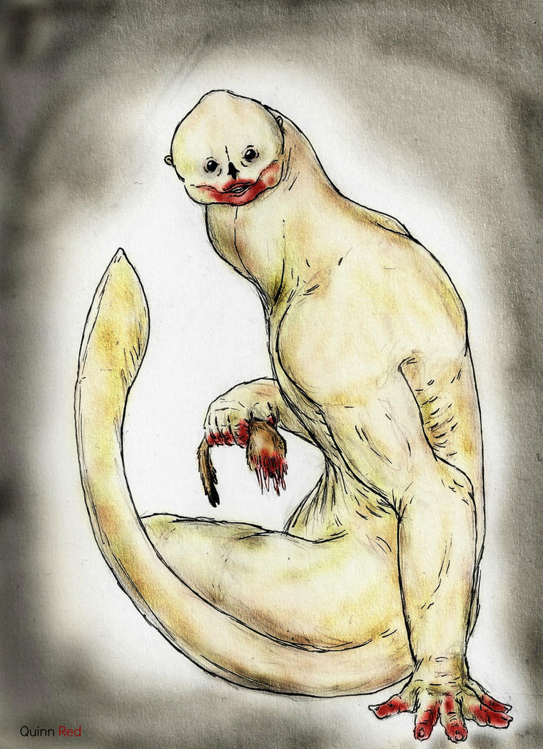 No Longer Man's: The Beluga Man by Quinn-Red
