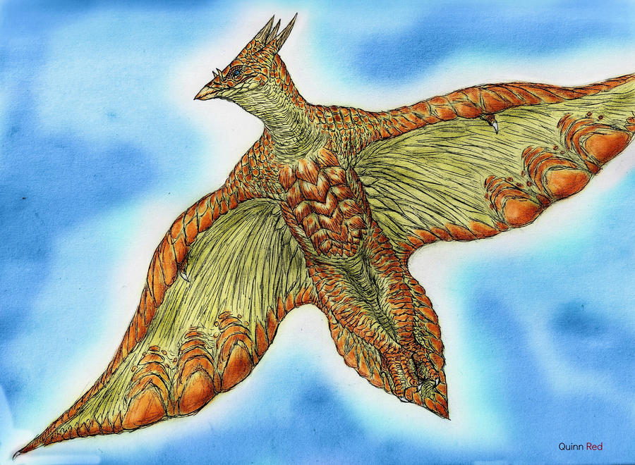 'Sea Turtle' Rodan by Quinn-Red