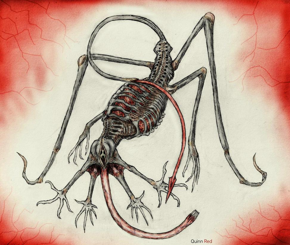 Corvorian (Heart Eater) by Quinn-Red