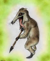 Raccoon Goblin by Quinn-Red