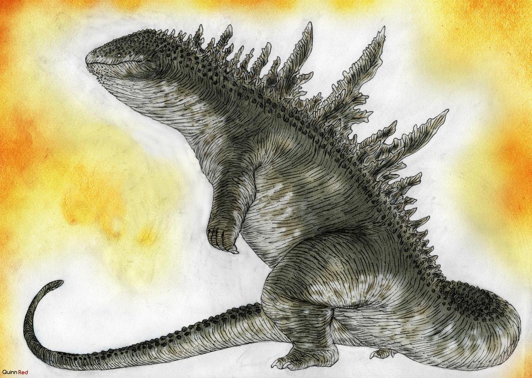 Osanjira Godzilla by Quinn-Red