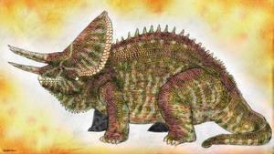 Land of Scales: Triceros (Chamaeursus Horridus)