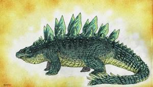 Land of Scales: Thyreos (Stegosuchus)