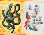 Commission: Risen Demon