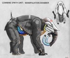 Combine Synth Elephant