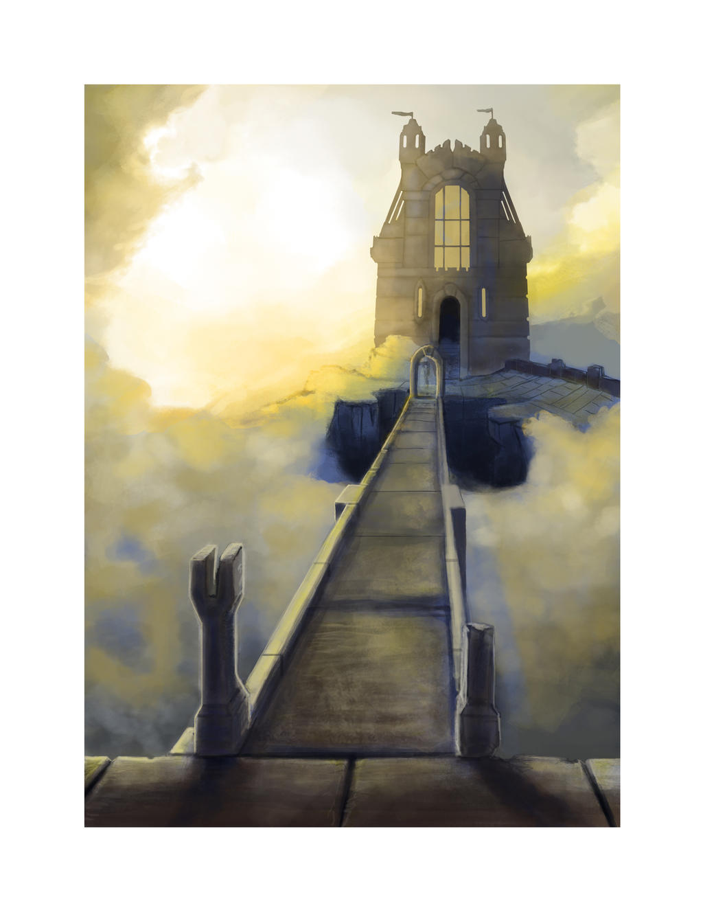 Castle In the Sky WIPV6 by Ethershadow