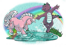 My little pony Spring rain by Solkatt