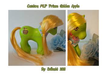 MLP custom Prince Golden Apple 2018 by Solkatt