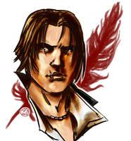 portrait of a assassin by AkumA-die