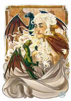 Daenerys Targaryen by AkumA-die