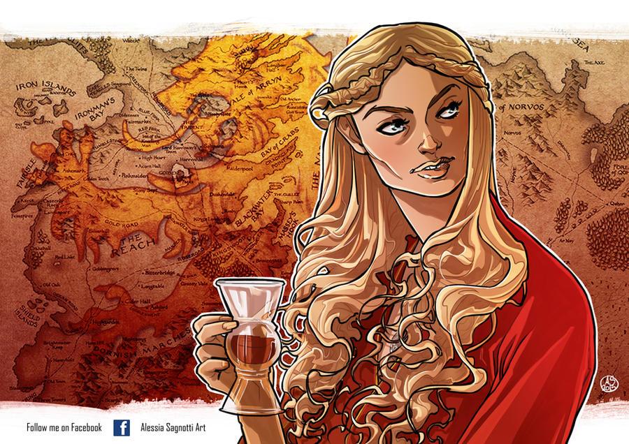 The Rains of Castamere _ Cersie Lannister by AkumA-die