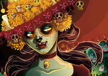 The Book Of life _ Muerte