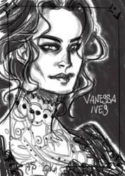 Vanessa Ives portrait by AkumA-die