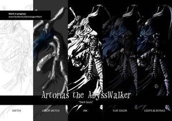 Artorias the abysswalker - work in progress by AkumA-die