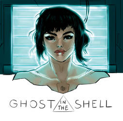 The Major _ Ghost in the Shell by AkumA-die