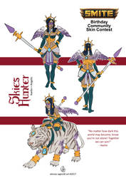 Angelic Awilix skin concept by AkumA-die