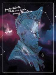 Yondu among the stars by AkumA-die