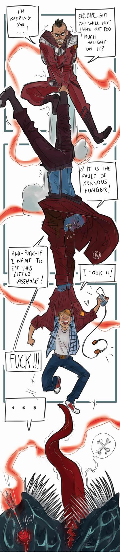 When Peter loses things by AkumA-die