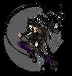 Mysterious Black Ninja