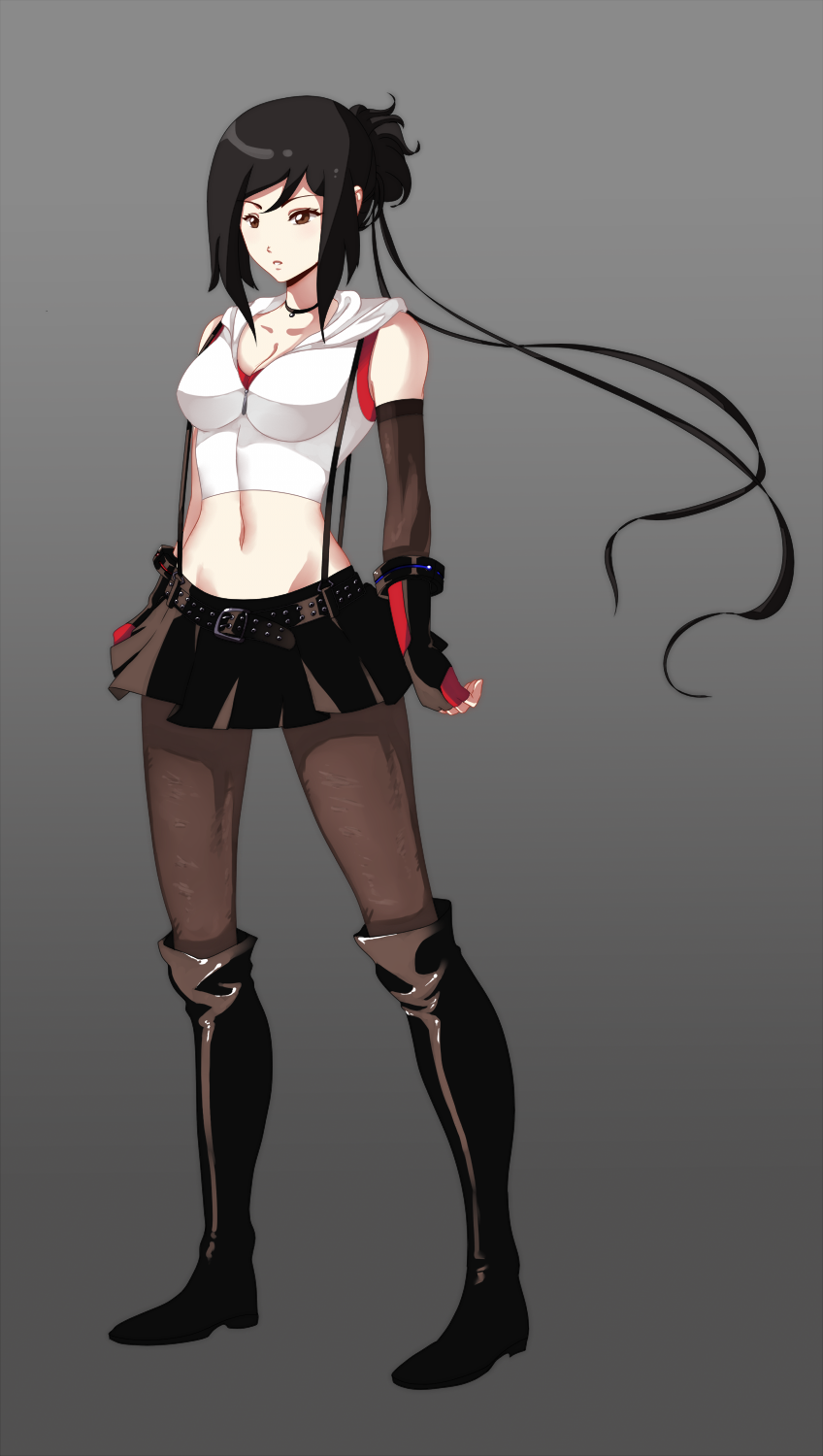 RWBY OC Leila Souris Alternative Outfit by 21as on DeviantArt