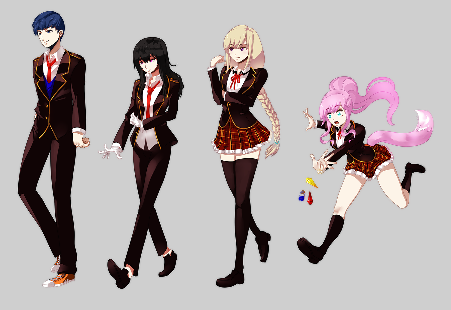 RWBY OCs favourites by MrDak3000 on DeviantArt