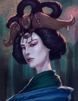 Smite - Chang'e by Varcis