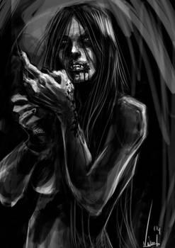 Fast Painting - Vampire