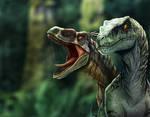 Raptor commission for JurassicFan95