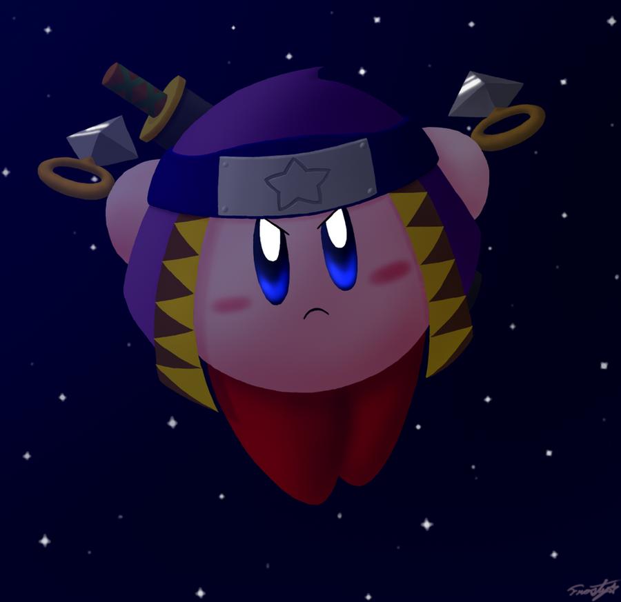Kirby Ninja Strike by frostystar