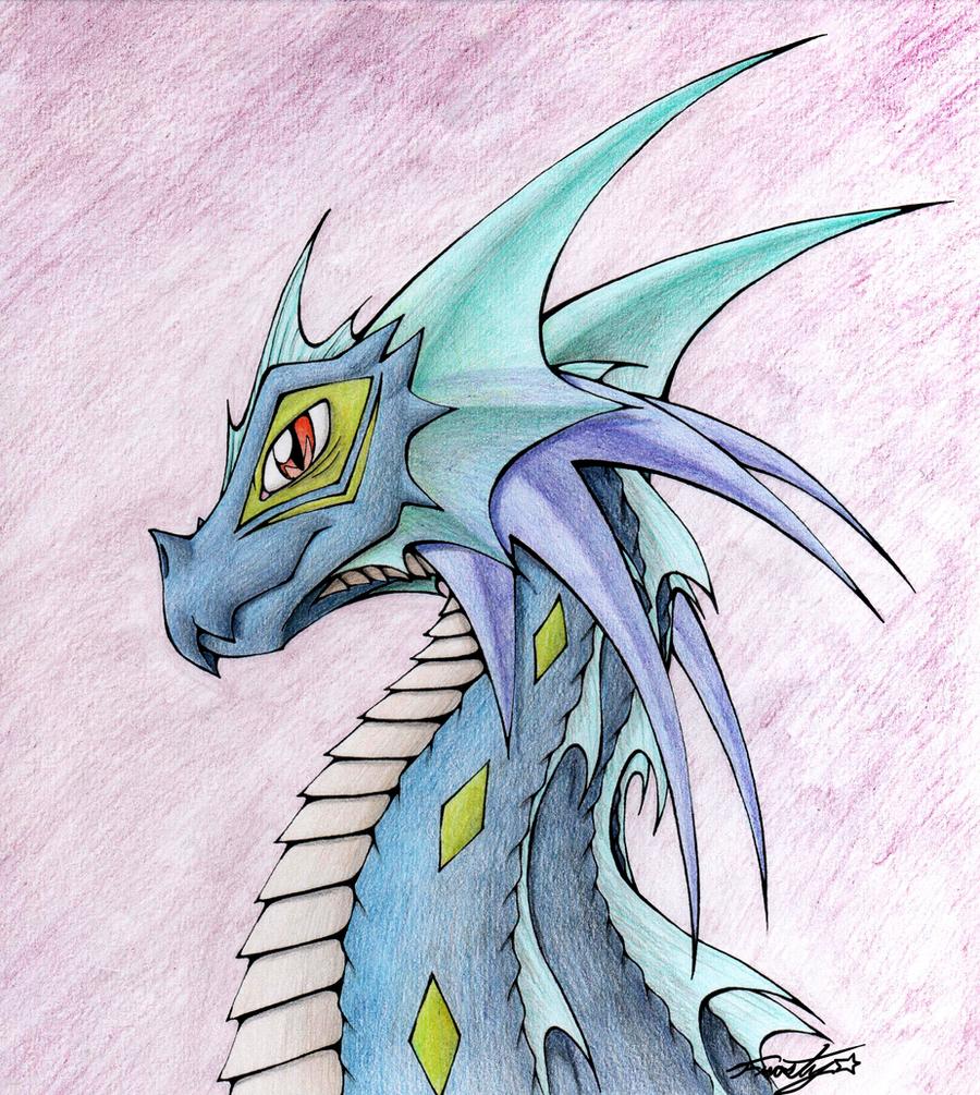Kylan the Water Dragon by frostystar on DeviantArt